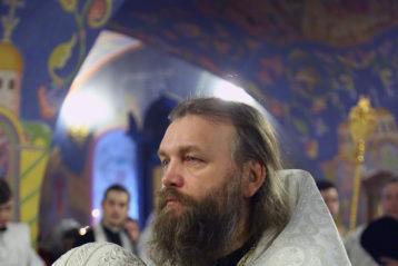 12 января. Архимандрит Александр (Лукин) (фото Сергея Лотырева)