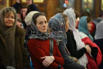13 января. В Александро-Невском кафедральном соборе Нижнего Новгорода (фото Сергея Лотырева)