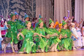 14 января. На благотворительном рождественском представлении в Дзержинске (фото Натальи Уваровой)