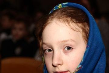 17 января. Во время концерта в Серафимовской православной гимназии Дзержинска (фото Натальи Уваровой)