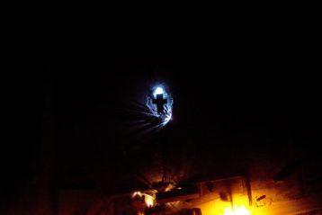 19 января. Иордань в коттеджном поселке «Чистые пруды» Дальнеконстантиновского района (фото Дальнеконстантиновского благочиния)