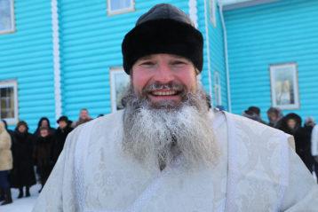 8 января. Протодиакон Андрей Железняков (фото Сергея Лотырева)