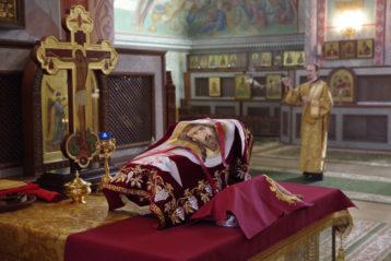 5 марта. В Александро-Невском кафедральном соборе Нижнего Новгорода (фото Алексея Козориза)