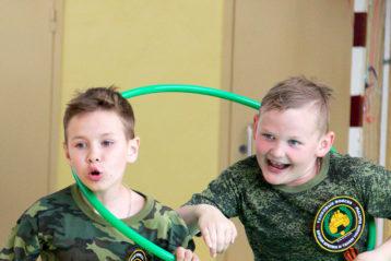 14 мая. «Веселые старты» состоялись между воспитанниками воскресных школ Арзамаса (фото Николая Жидкова)
