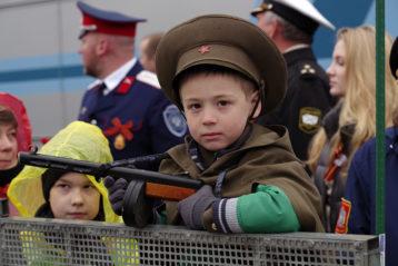 9 мая. На праздновании Дня Победы (фото Алексея Козориза)