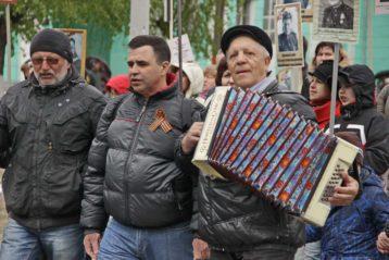 9 мая. В Дзержинске состоялись торжества, посвященные 72-й годовщине Победы (фото Натальи Уваровой)