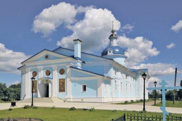 Храм в честь иконы Божией Матери «Знамение» в селе Хрипунове