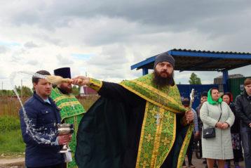 4 июня. Во время крестного хода в селе Кирилловка Арзамасского района (фото Николая Жидкова)