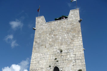 Сторожевая башня в анакопийской крепости
