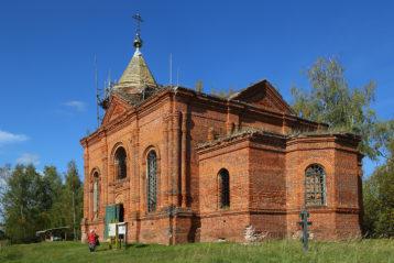 Храм в честь преподобного Симеона Столпника села Развилье