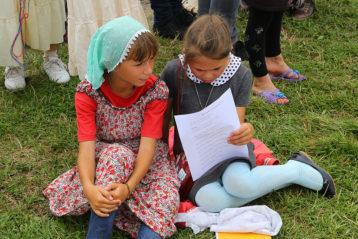 31 июля. В палаточном городке вблизи Дивеевского монастыря (фото Сергея Лотырева)
