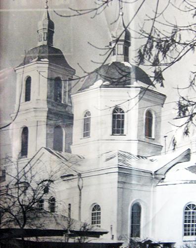 Крестовоздвиженский кафедральный собор в Омске. 1960-е годы