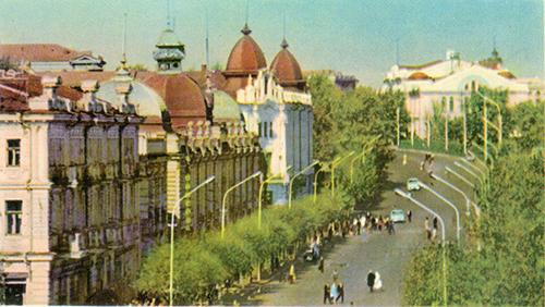 Омск в 1966 году