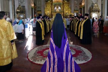 12 августа. В Воскресенском кафедральном соборе города Арзамаса (фото Алексея Козориза)