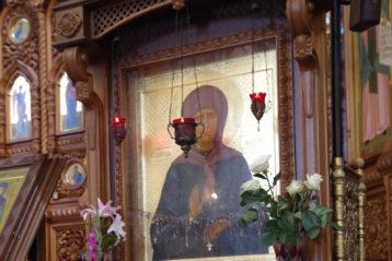 20 августа. В Александро-Невском кафедральном соборе (фото Алексея Козориза)