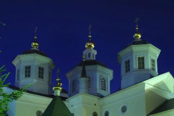 24 августа. Крестовоздвиженский монастырь Нижнего Новгорода (фото Алексея Козориза)