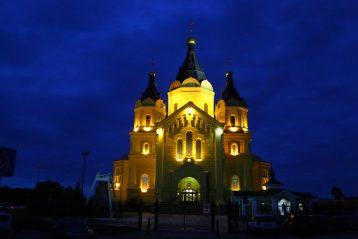 27 августа. Александро-Невский кафедральный собор Нижнего Новгорода (фото Сергея Лотырева)