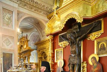 8 августа. В Воскресенском кафедральном соборе Арзамаса (фото Сергея Лотырева)
