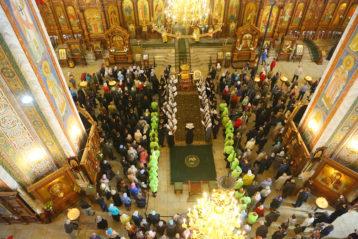 10 сентября. В Александро-Невском кафедральном соборе (фото Сергея Лотырева)