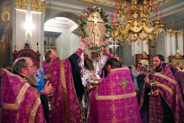 26 сентября. В Крестовоздвиженском монастыре Нижнего Новгорода (фото Алексея Козориза)