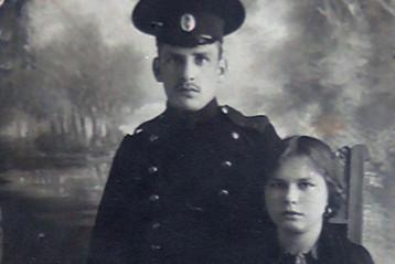 Сергеев М.Н. и Сергеева М.В.,12 октября 1914г.