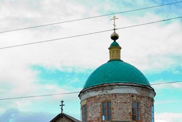 Церковь Казанской иконы Божией Матери. Село Богородское (Клетский)