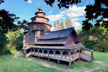 Церковь Покрова Пресвятой Богородицы. Село Старые Ключищи (Ярусный)
