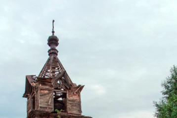 Церковь Воздвижения Честного Креста Господня. Село Окишино (Шатровый)