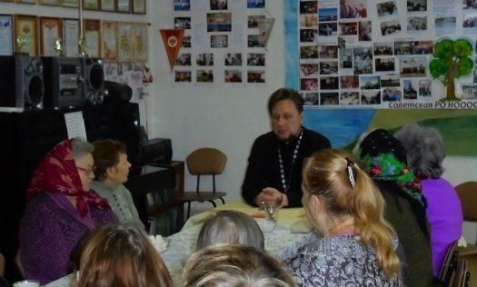 Помощник благочинного Нагорного округа посетил областную организацию Всероссийского общества инвалидов