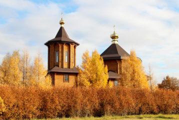 14 октября. Покровский храм села Ломовка Арзамасского района (фото Николая Жидкова)