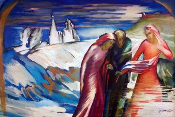 «Церковь Жен Мироносиц. Великая суббота», Евгений Юшков