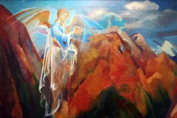 «Озеро Рица», Евгений Юшков