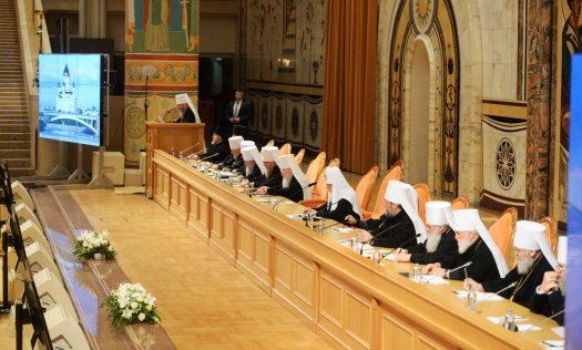 Архиерейский храм выбрал 3-х членов Общецерковного суда