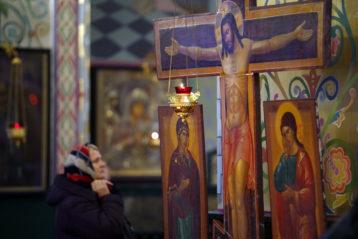 13 декабря. В храме в честь Владимирской иконы Божией Матери (фото Алексея Козориза)