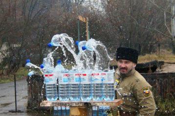 19 ноября. На праздновании дня памяти подвига казаков во время Великой Отечественной войны (фото Нижегородского городского казачьего общества)