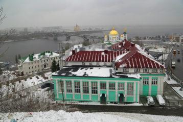 2 ноября. Нижегородская духовная семинария (фото Сергея Лотырева)