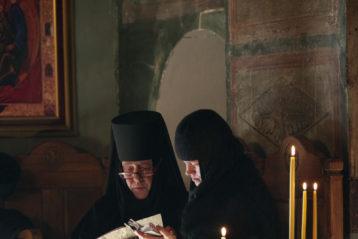 26 декабря. Во время Божественной литургии в Бодбийском монастыре (Грузия) (фото Алексея Козориза)