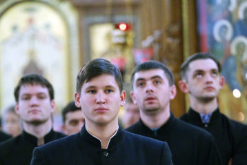 3 ноября. В Александро-Невском кафедральном соборе (фото Алексея Козориза)