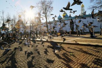 8 ноября. Троице-Сергиева лавра (фото Сергея Лотырева)