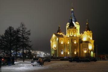 7 января. Александро-Невский кафедральный собор (фото Алексея Козориза)