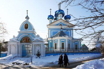15 февраля. Храм в честь Сретения Господня города Балахны (фото Балахнинского благочиния)