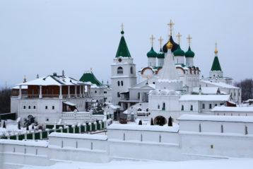 2 февраля. Вознесенский Печерский монастырь (фото Сергея Лотырева)