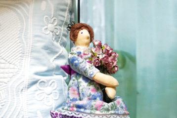 О.В. Бросевич. Кукла «Принцесса нагорошине»
