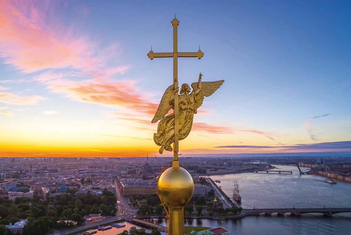 Город под сенью летящего Ангела