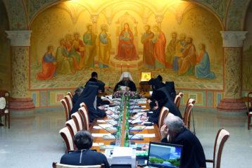 19 марта. Заседание комиссии Межсоборного присутствия по вопросам организации жизни монастырей и монашества (фото Сергея Лотырева)