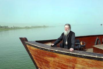 27 марта. Во время водной прогулки нижегородских паломников по Галилейскому морю (фото Алексея Козориза)