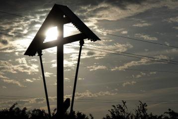 24 мая. Поклонный крест в Арзамасском районе (фото Бориса Тюрина)