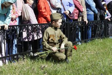 9 мая. На праздновании Дня Победы в Сормовском районе (фото Сормовского благочиния)