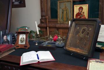 2 июля. В музее-квартире праведного Иоанна Кронштадтского г. Кронштадт (фото Алексея Козориза)