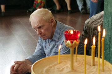 29 июля. Во время Божественной литургии в Александро-Невском кафедральном соборе (фото Алексея Козориза)